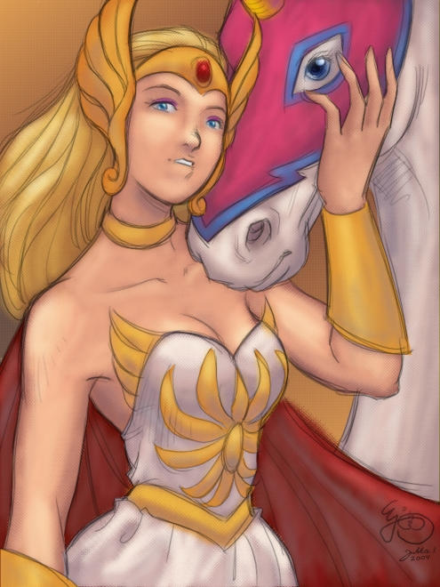 Princess of Power by Jukkart