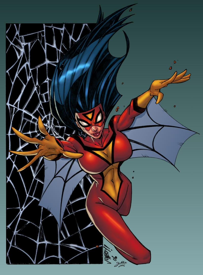 Spider Woman by Jonboy by Jukkart