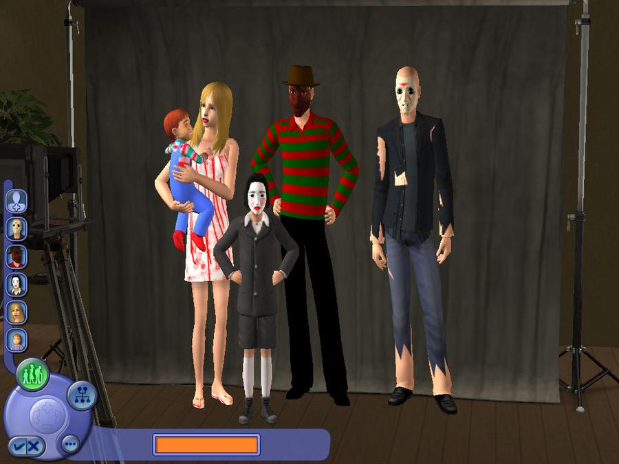 Sims 3 Cartoon Characters : Horror characters sims by classicvampfan on deviantart