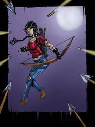 Teen Wolf Legacy AU - Melissa McCall II (Alt. Art) by bnelson19