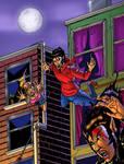 Werewolves (Teen Wolf-style Comic Book Art) by bnelson19
