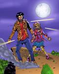 Alpha and Beta Werewolves (Teen Wolf Comic Art) by bnelson19