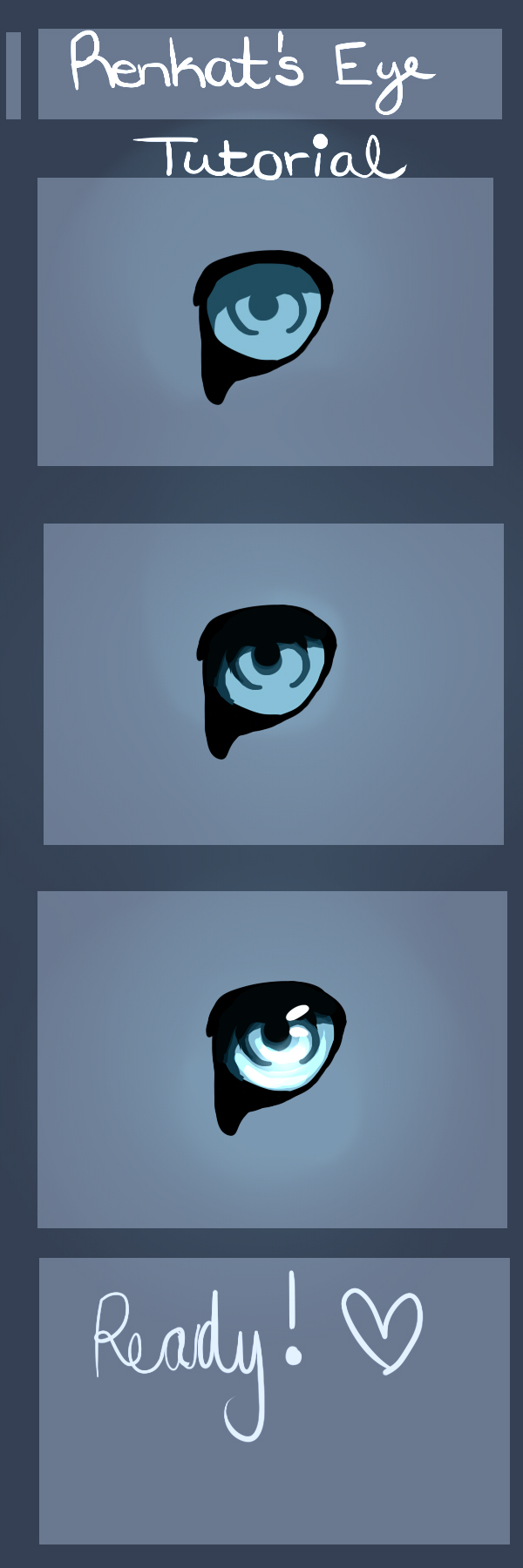 Short Eye Tutorial by Renkat