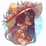 Summer Witch Bust