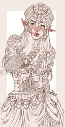 Arabian Witch by MartinaSaviane