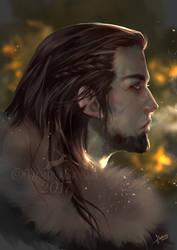Viking Warrior _Doodle by MartinaSaviane