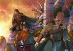 COMMISSION: LORD OF THE RINGS