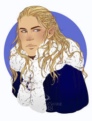 COMMISSION: Soudrian by MartinaSaviane
