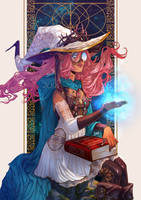 Witch of Thorns by MartinaSaviane