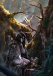 COMMISSION: ANATAINE (Digital Painting)