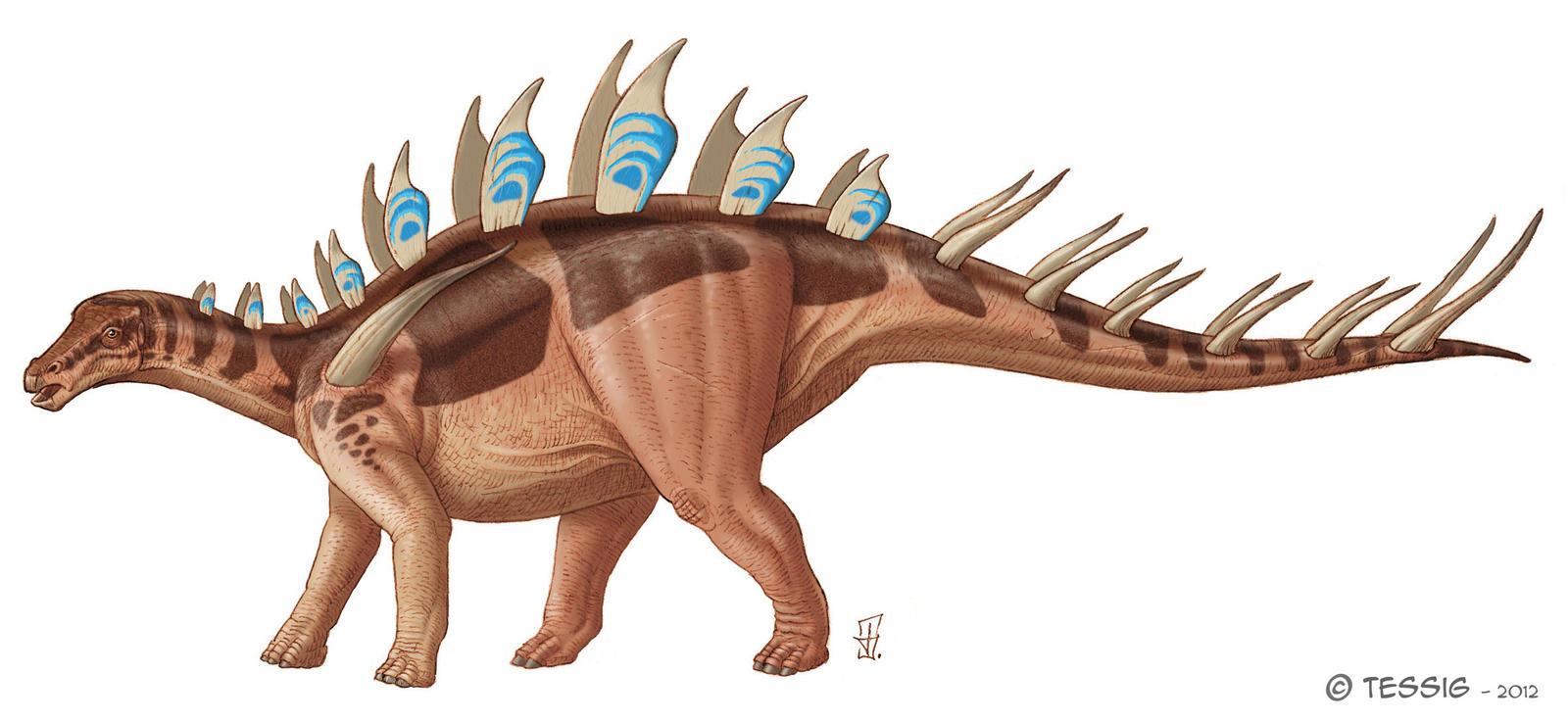 Lexovisaurus by Tessig