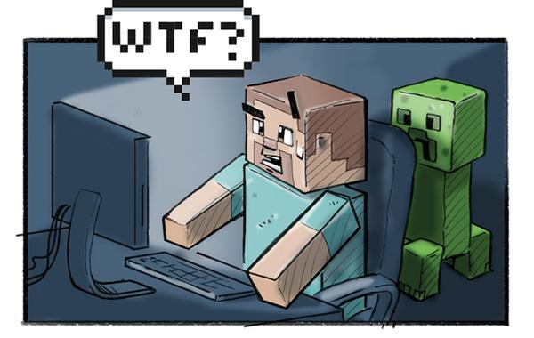 Minecraft late at night...