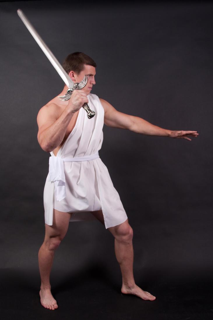 Greek Warrior by WhiteWing-Stock-EtAl