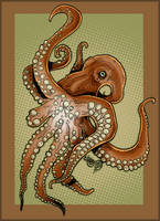 octopus. by carboncopykiller