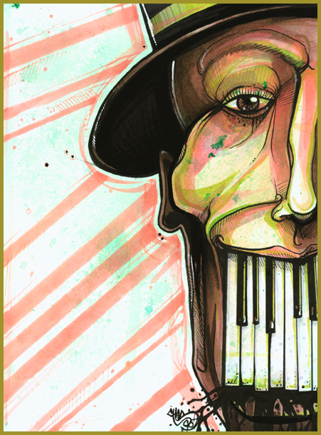 the ugly organist