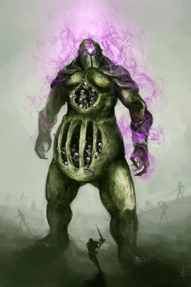 Death Colossus: Plaguebearer by StormTitan