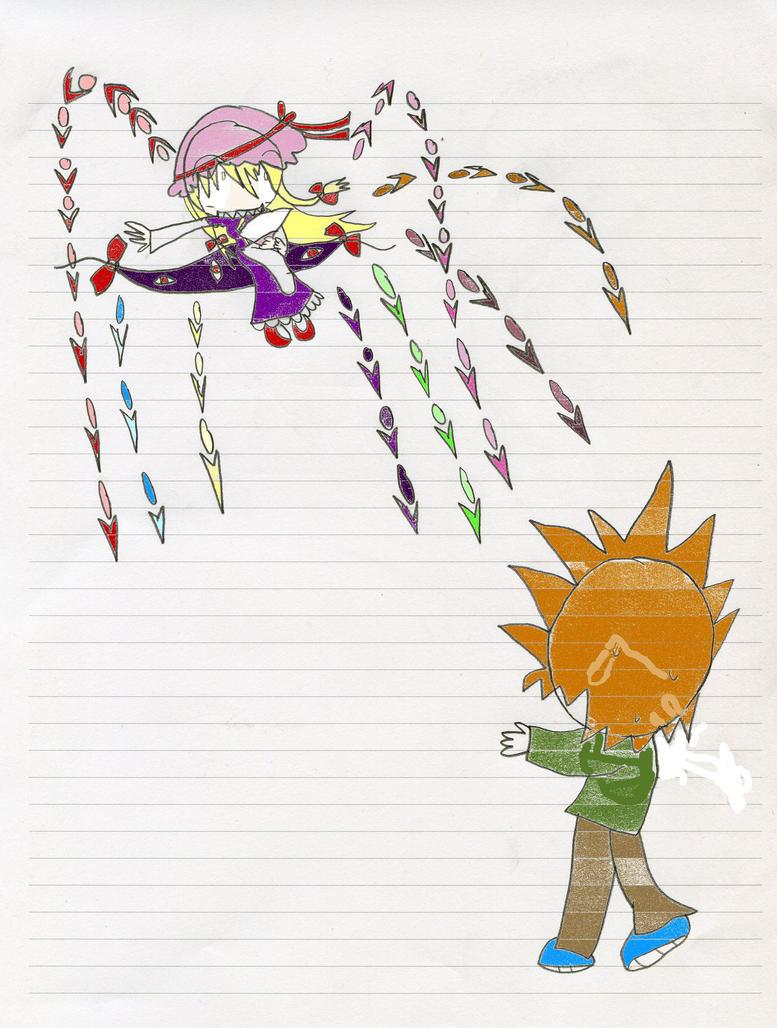 Edward VS Yukari by TobiObito4ever