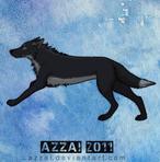 Ayoko's running animation by azzai