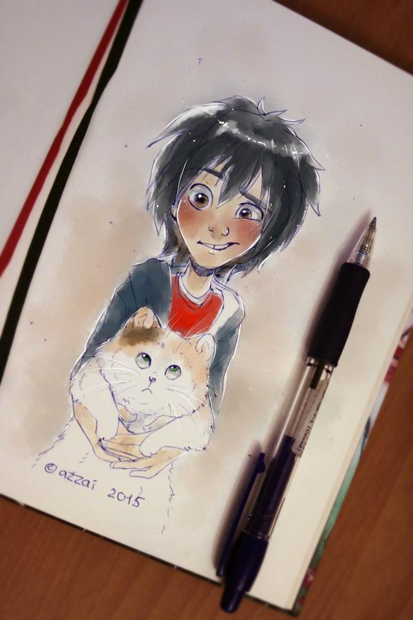 sketchbook02 by azzai