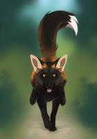 cross fox by azzai