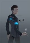 fanart   Connor by azzai