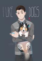 i like dogs by azzai