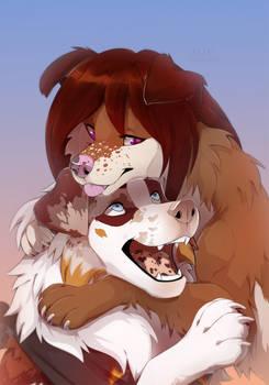 cute hugs_DaniMutt