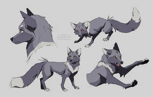 azzai fox sketches