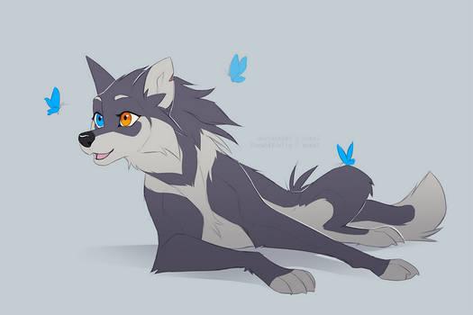 Azzai wolfy sketch