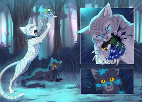 Warrior Cats ZINE | night hunt