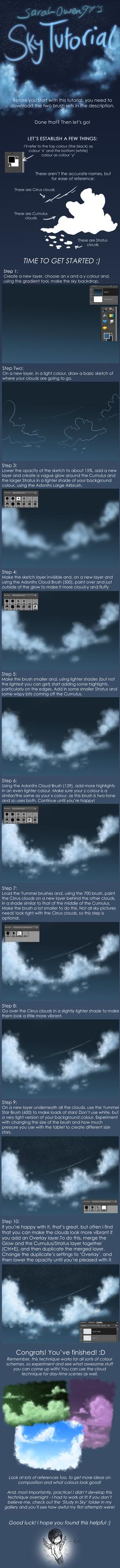 Sky Tutorial by sarahowen97