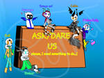 Ask/dare us anything ( open ) by rossiemoonstar123
