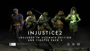HOLY SHIT THE NINJA TURTLES ARE IN INJUSTICE 2!!!!