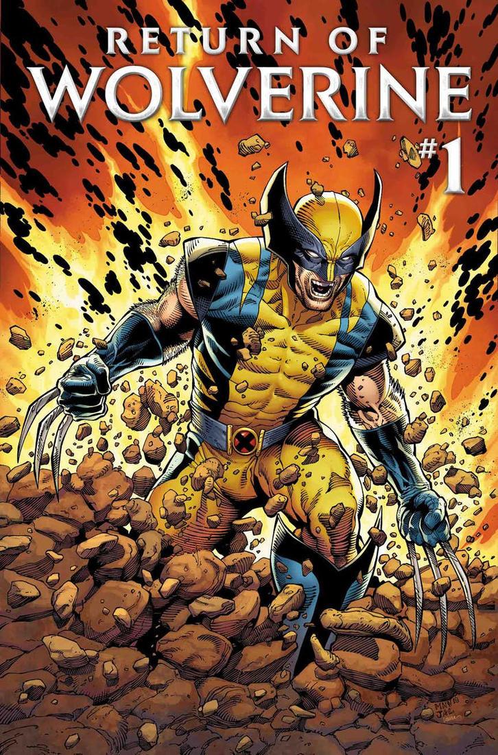 Wolverine will return in September. by alvaxerox
