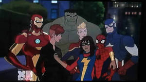 The Avengers with Spider-Man