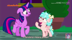 Cozy Glow believes Friendship is Power  by alvaxerox
