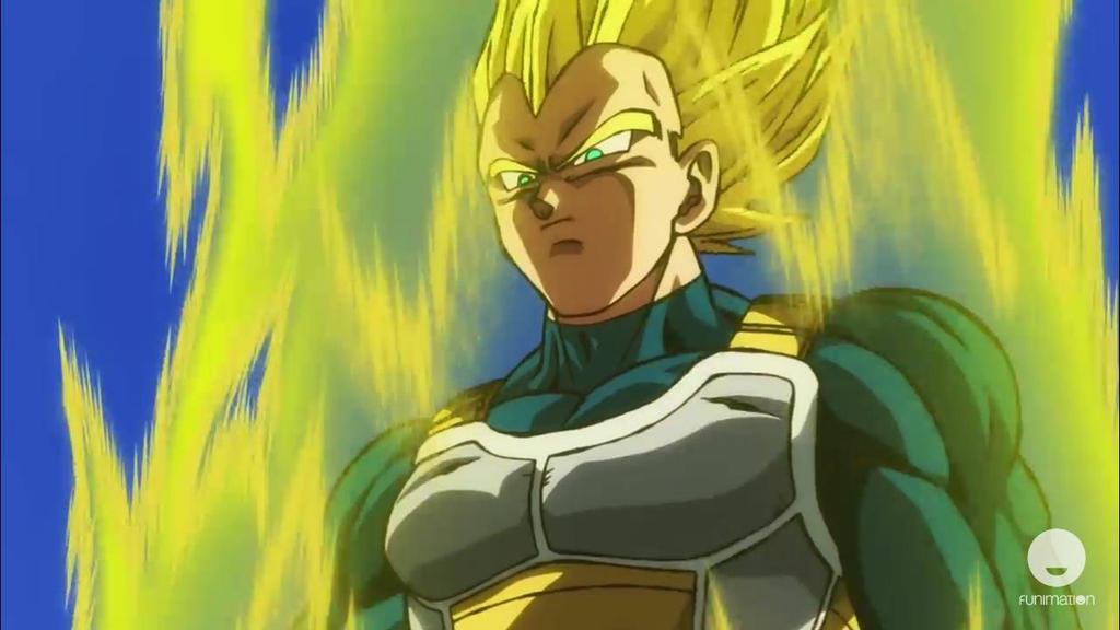 Vegeta From Dragon Ball Super Broly By Alvaxerox On Deviantart