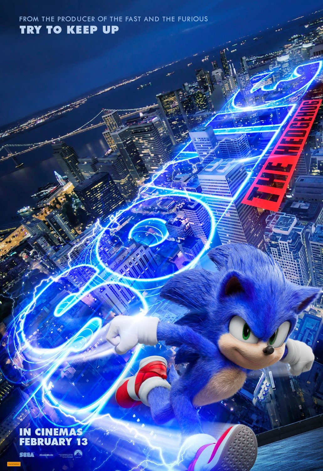 Sonic The Hedgehog Movie Poster Better 2 By Alvaxerox On