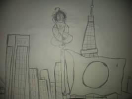 Spider-Tsundere, Superhero of Neo-Tech City. t