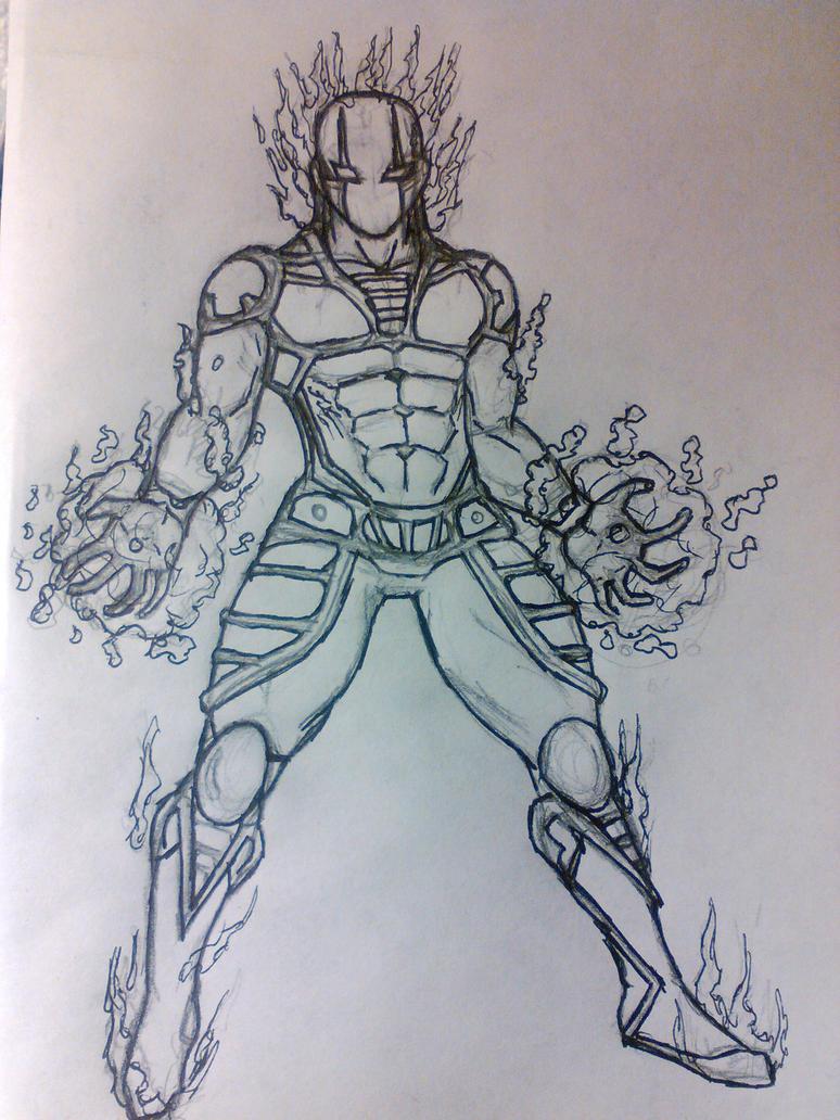 Phantom Ink Sketch by Lycan-metal