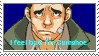 I feel bad for Gumshoe stamp by Xaldensmutanthamster
