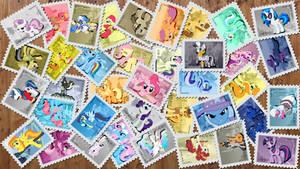 Original Random Stamps Wallpaper