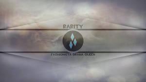 Rarity Fashionista Drama Queen