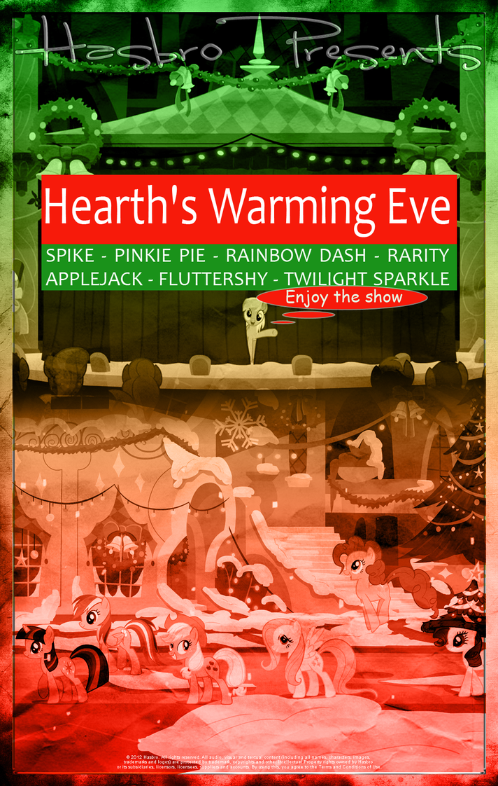 MLP : Hearth's Warming Eve - Movie Poster by pims1978