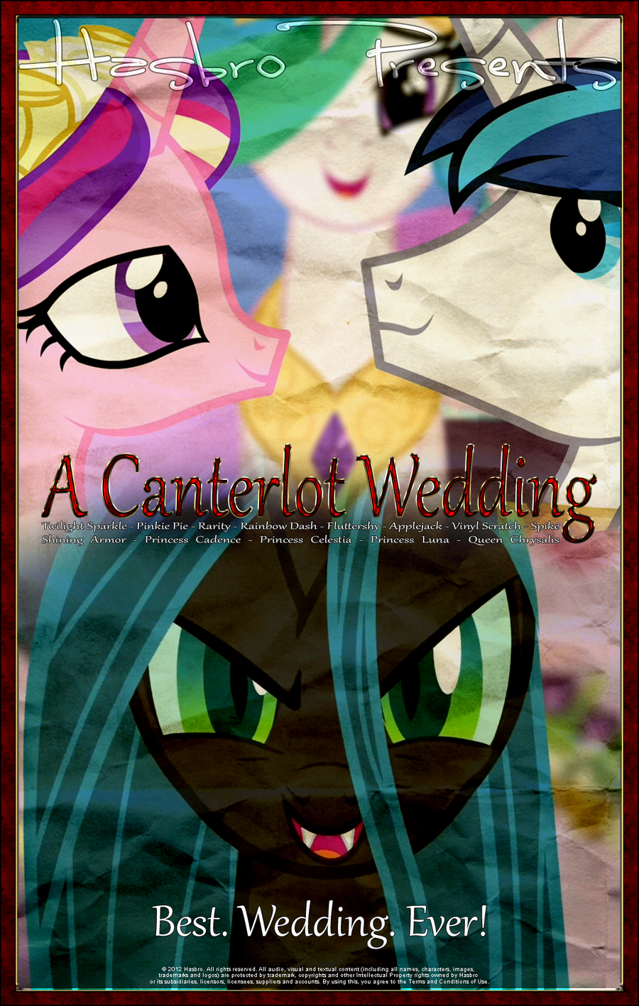 MLP : A Canterlot Wedding - Movie Poster by pims1978 on ...