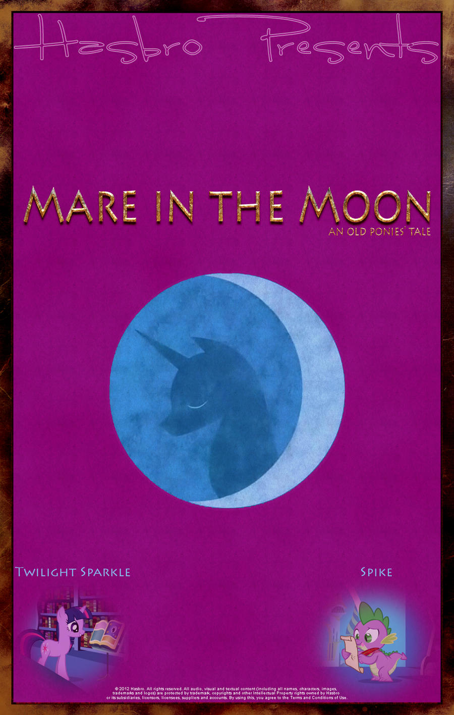 MLP : Mare in the Moon - Movie Poster by pims1978
