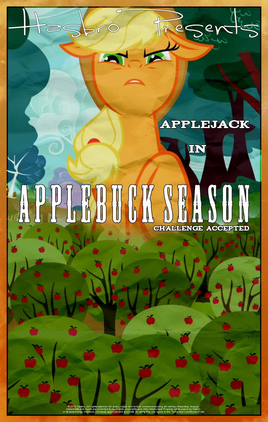 MLP : Applebuck Season - Movie Poster by pims1978