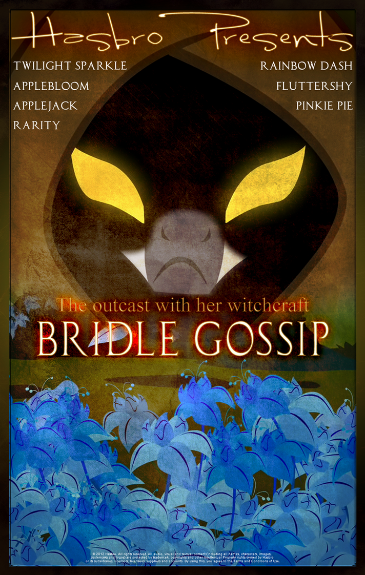 MLP : Bridle Gossip - Movie Poster by pims1978