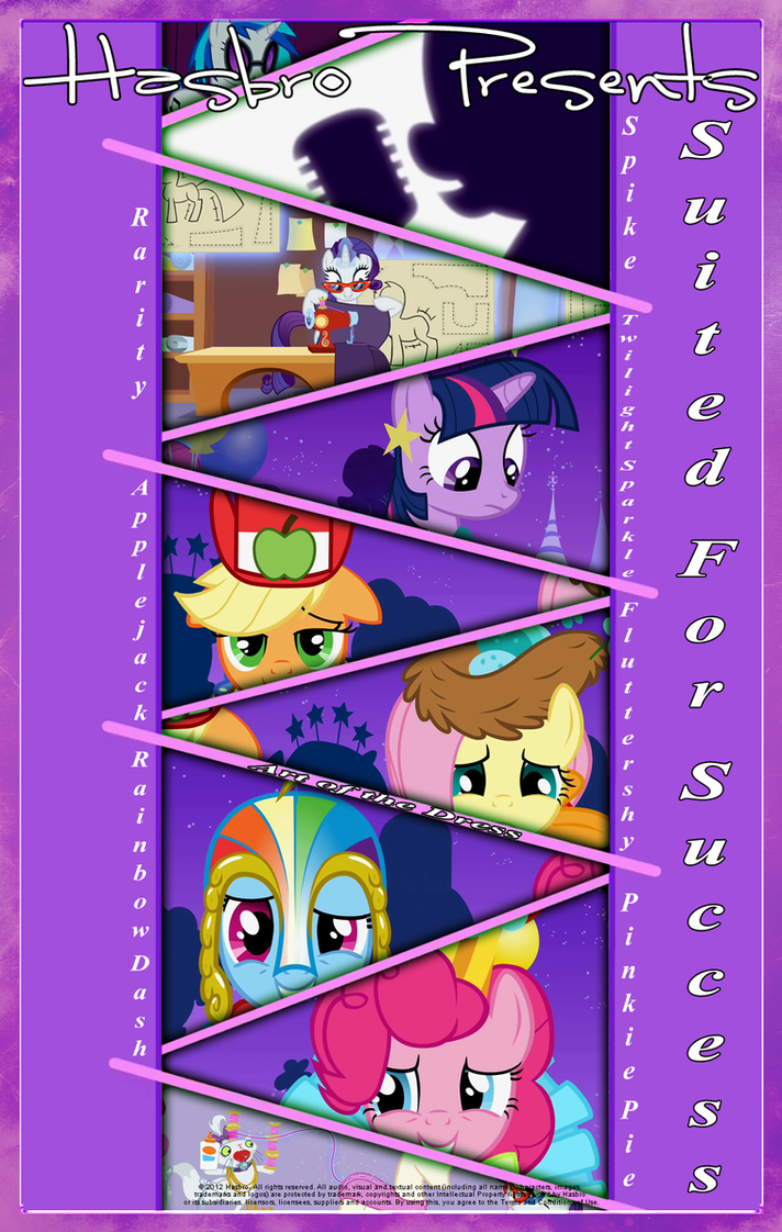 MLP : Suited For Success - Movie Poster by pims1978