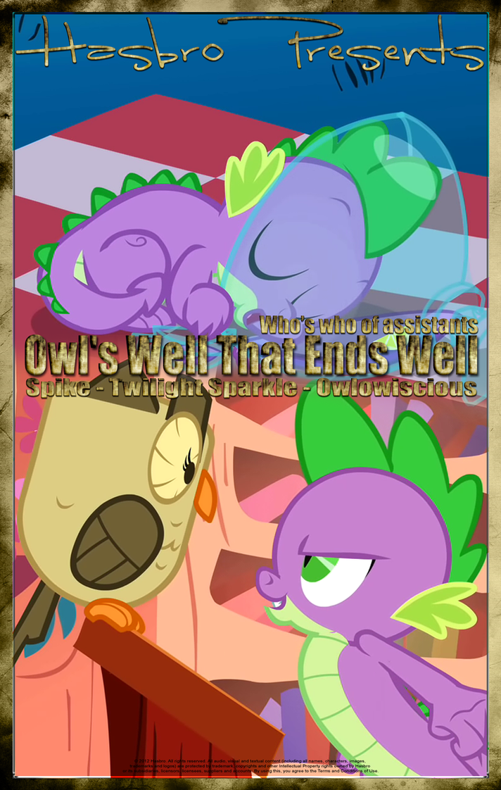 MLP : Owl's Well That Ends Well - Movie Poster by pims1978